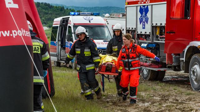 """""""Bezpieczna Małopolska""""- w akcji m.in. strażacy OSP i ratownicy Zintegrowanej Służby Ratowniczej"""