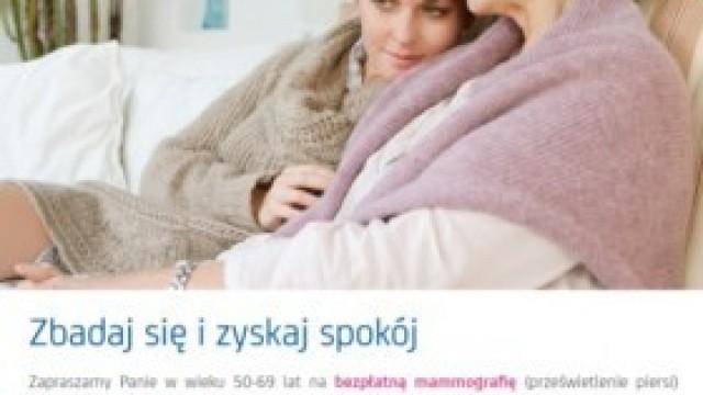Bezpłatne badania mammograficzne w Kętach