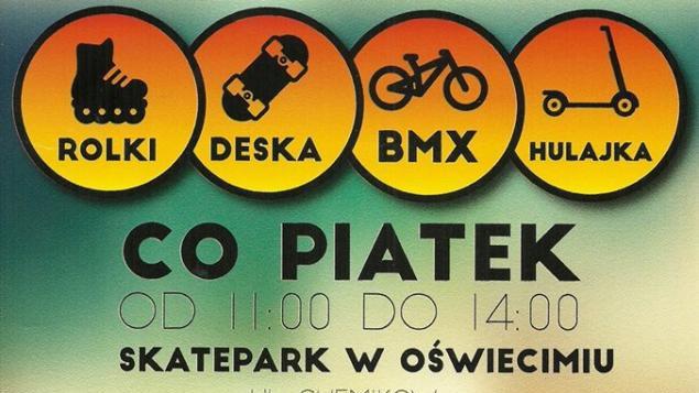 Bezpłatne warsztaty w skateparku co piatek