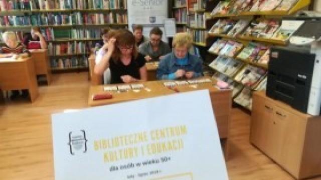 Biblioteczne Centrum Kultury i Edukacji w kęckiej książnicy