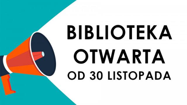 Biblioteki ponownie otwarte - InfoBrzeszcze.pl