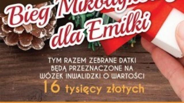 Bieg Mikołajkowy dla Emilki! Zapraszamy 8 grudnia!