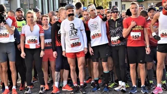 Bieg Niepodległości w Oświęcimiu (start i trasa)