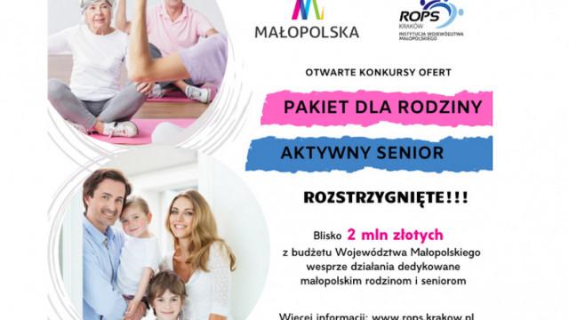 Blisko 2 mln zł na wsparcie działań przeznaczonych małopolskim rodzinom i seniorom - InfoBrzeszcze.pl