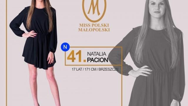 Brzeszczanka w finale Miss Małopolski