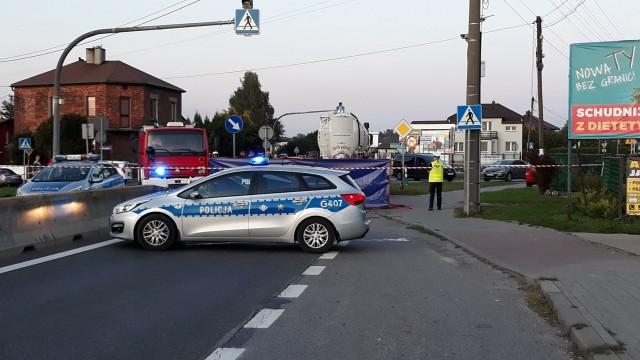 BRZESZCZE. 61-letni rowerzysta zginął pod kołami ciężarowego mercedesa