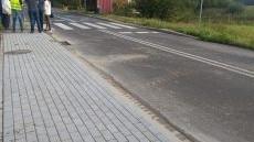 BRZESZCZE. Nowy chodnik w Wilczkowicach