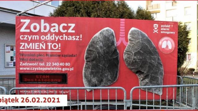 """Brzeszcze. """"Płuca"""" Polskiego Alarmu Smogowego pokazały, czym oddychają brzeszczanie"""