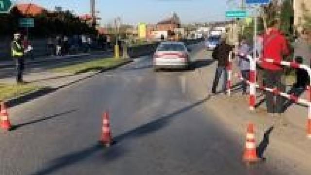 Brzeszcze. Policjanci zatrzymali sprawcę potrącenia pieszego. Jest podejrzany o kierowanie pod wpływem narkotyków.