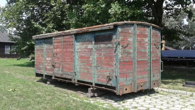 BRZESZCZE. Przedwojenny francuski wagon towarowy