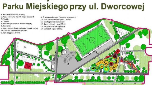 BRZESZCZE. Z OSPR zrewitalizują park miejski