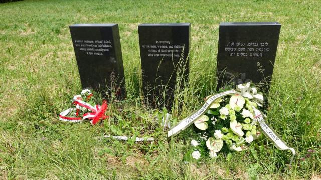 BRZEZINKA. 79 rocznica zagłady Żydów olkuskich
