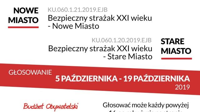 Budżet Obywatelski w Gminie Kęty, pomóżmy strażakom z OSP Kęty.