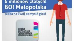 Budżet Obywatelski Województwa Małopolskiego. Do podziału 6 mln zł