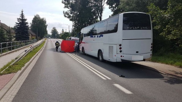 BULOWICE. Wypadek śmiertelny na DK 52