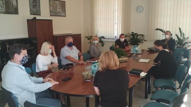 Burmistrz zwołał Gminny Zespół zarządzania kryzysowego. - InfoBrzeszcze.pl