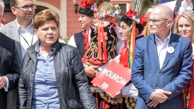 Była premier Beata Szydło o wyroku na Sebastiana Kościelnika