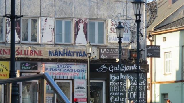 Chaos reklamowy w Wadowicach. Zobacz zdjęcia