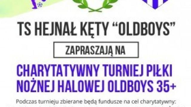 Charytatywny Turniej Piłki Nożnej Halowej Oldboys 35+. Zapraszamy!