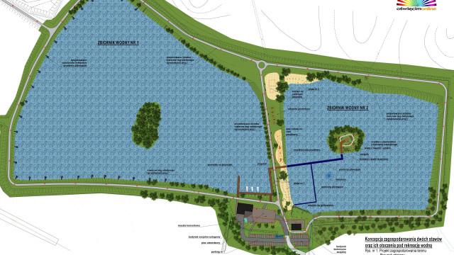 CHEŁMEK. Jest plan na przystań żaglową, plaże, ścieżki rowerowe i muszlę koncertową