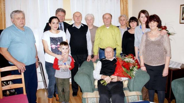 CHEŁMEK.  Józef Matyja skończył 103 lata