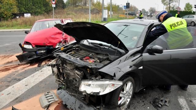 CHEŁMEK. Kobieta spowodowała wypadek. Pięć osób trafiło do szpitala