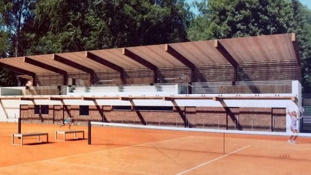 CHEŁMEK.Korty tenisowe zyskają nowe oblicze
