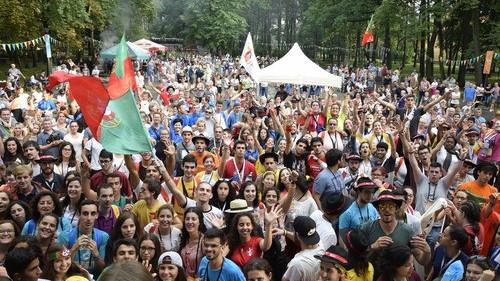 """CHEŁMEK. Międzynarodowy """"spontan"""" w Parku Rodzinnym z Portugalczykami i Brazylijczykami w głównych rolach"""