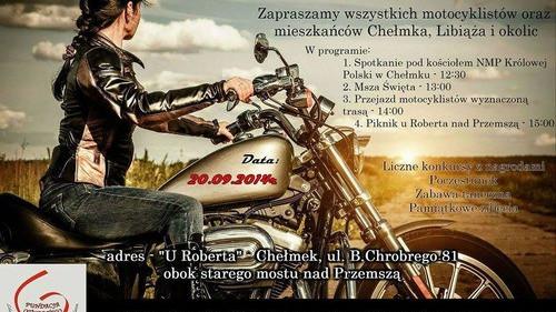 CHEŁMEK. Piknik motocyklowy u Roberta