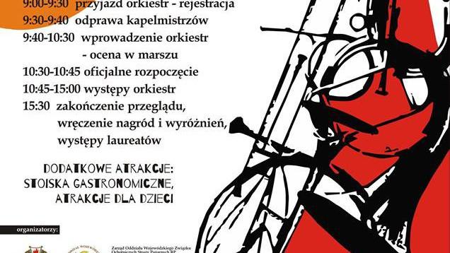 CHEŁMEK. Wojewódzki Przegląd Strażackich Orkiestr Dętych