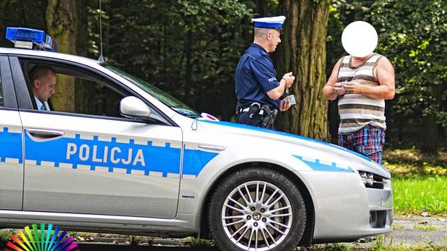CHEŁMEK. Wypadek na ul. Krakowskiej, ranny rowerzysta