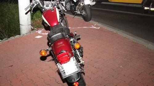 CHEŁMEK. Wypadek szybkich jednośladów. Obaj motocykliści trafili do szpitali. Jeden jest w ciężkim stanie