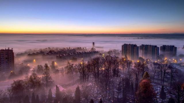 Chrzanów z lotu ptaka. Wyjątkowe fotografie fotografie miasta wykonane z drona