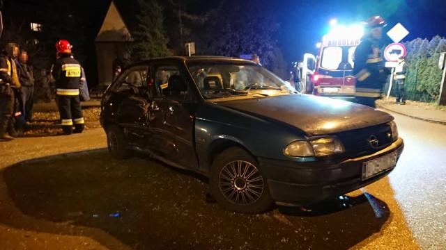 Czterolatka trafiła do szpitala po zdarzeniu drogowym w Chełmku. ZDJĘCIA !