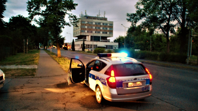 Czynności śledcze na ul.Powstańców Śląskich w Oświęcimiu. Czy ma to związek z wypadkiem Pani Premier ? ZDJĘCIA !