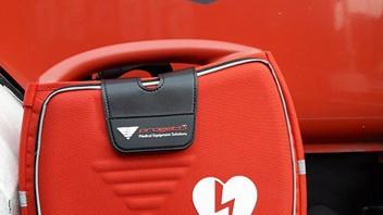 Defibrylator AED na wyposażeniu OSP Brzeszcze. ZDJĘCIA !