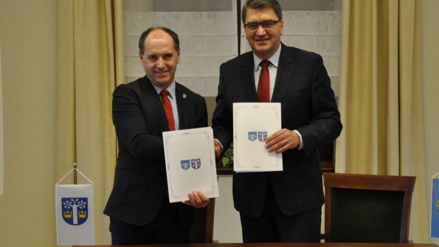 Deklaracja współpracy z Miastem Oświęcim