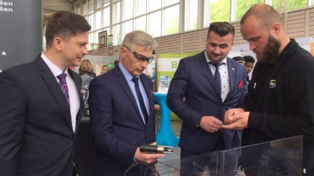 Delegacja Powiatu Oświęcimskiego na JOBMESSE 2019
