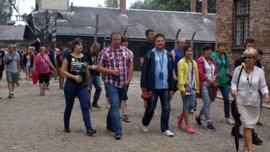 Delegacja z Watykanu w Muzeum Auschwitz