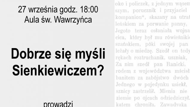 Demontaże Literatury tym razem o Henryku Sienkiewiczu