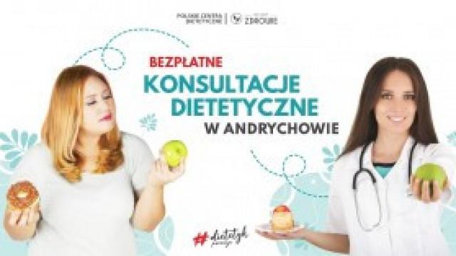 """DO KOŃCA LISTOPADA - Bezpłatne konsultacje z dietetykiem Projekt Zdrowie w Andrychowie w ramach akcji """"Pomagamy, nie oceniamy"""" [artykuł sponsorowany]"""