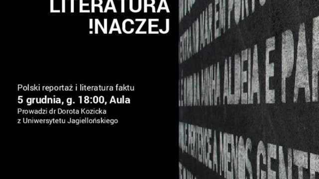 Dorota Kozicka o reportażu i literaturze faktu