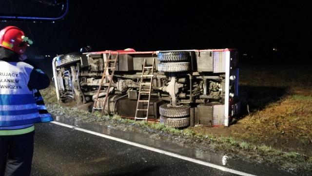 Doświadczenie i opanowanie kierowcy JRG Oświęcim, pozwoliły uniknąć tragedii