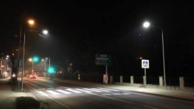 Doświetlono przejścia dla pieszych. Będzie bezpieczniej