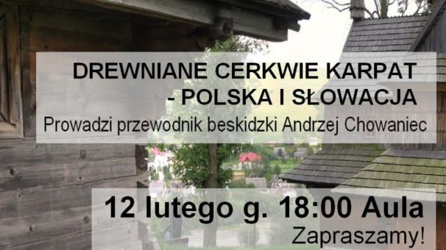 Drewniane cerkwie Karpat – Polska i Słowacja