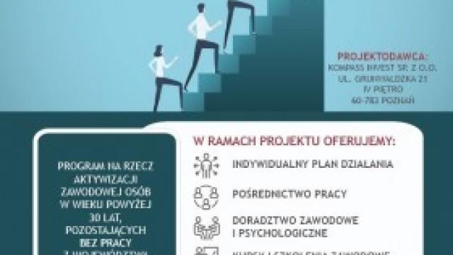 DROGA DO ZATRUDNIENIA – program na rzecz aktywizacji zawodowej