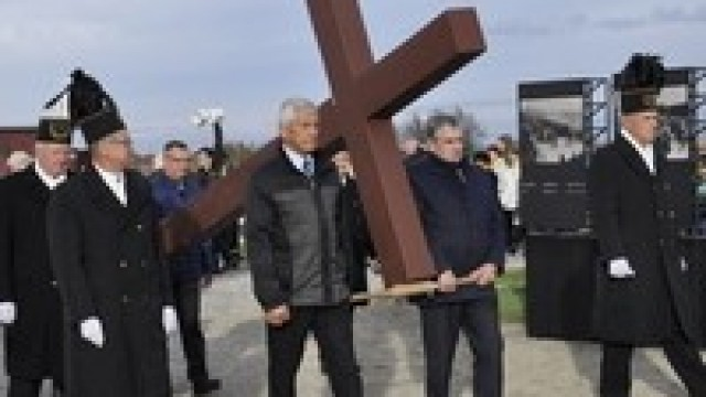 Droga krzyżowa w Birkenau