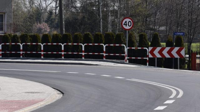 Droga powiatowa w Skidziniu po modernizacji - InfoBrzeszcze.pl