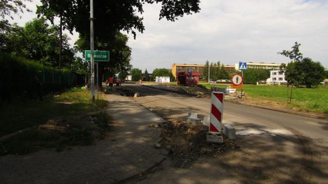 Droga Wojewódzka nr 949 w remoncie. - InfoBrzeszcze.pl