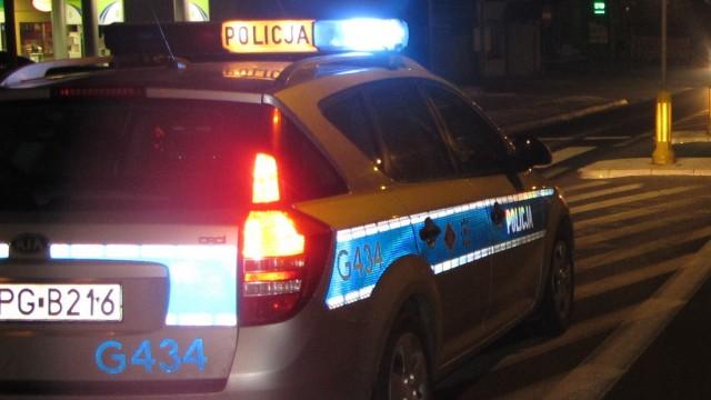 Drogowy przestępca wpadł w ręce nocnego patrolu